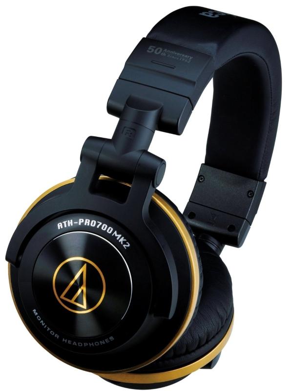 Audio-Technica ATH-PRO700 MK2 Professional DJ Headphones 50th Anniversary Edition