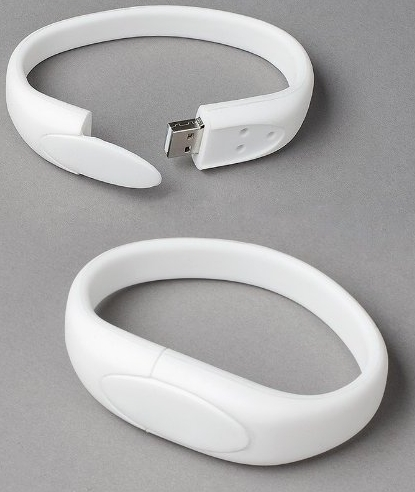 Wristband USB Flash Memory Drive 16GB