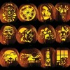 Pumpkin Carving Tattoo Patterns