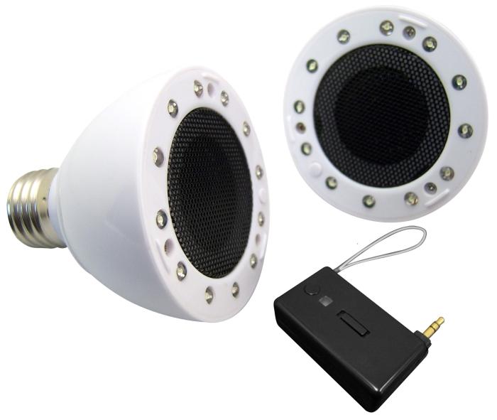 Light Bulb Wireless Speaker System