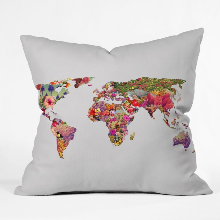Throw Pillow Its Your World
