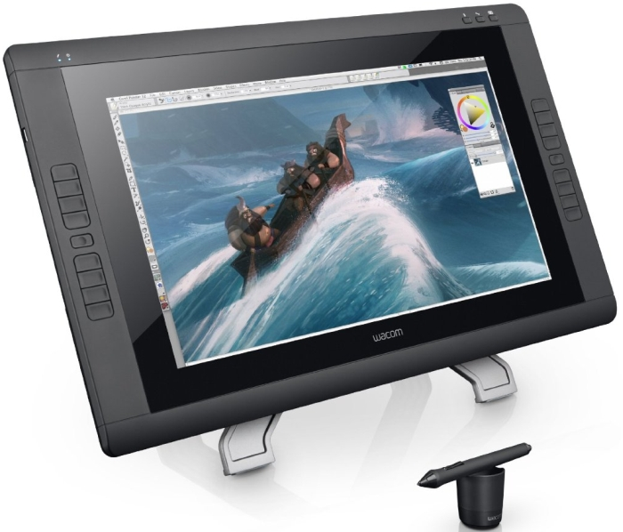 Wacom CINTIQ 22HD Pen Display - Graphics Monitor with Digital Pen