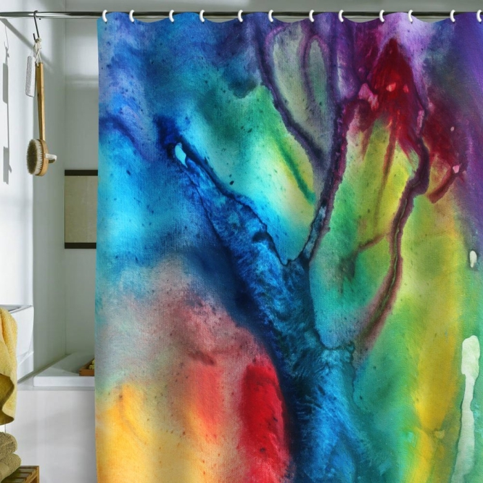 Designs Madart the Beauty of Color 3 Shower Curtain