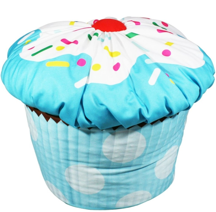 Kids Cupcake Bean Bag
