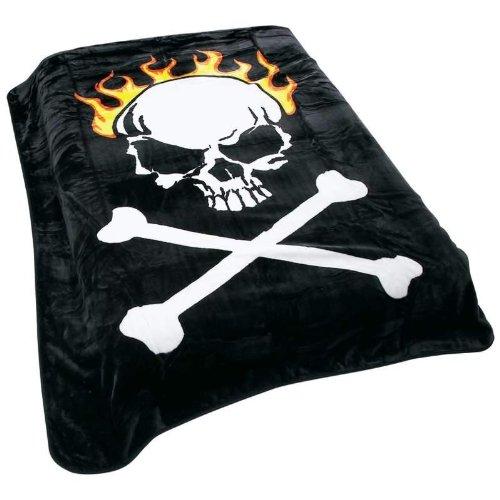Skull and Cross Bones Blanket