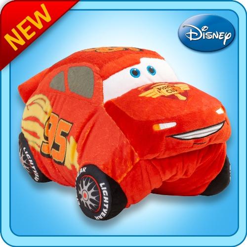 My Pillow Pets Authentic Disney Cars Lightning McQueen