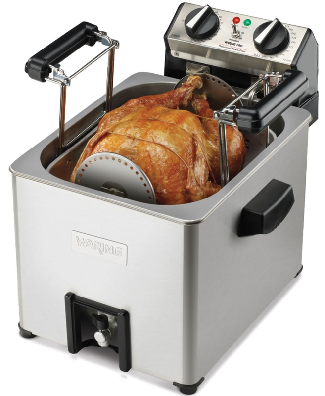 The Only Indoor Rotisserie Turkey Fryer