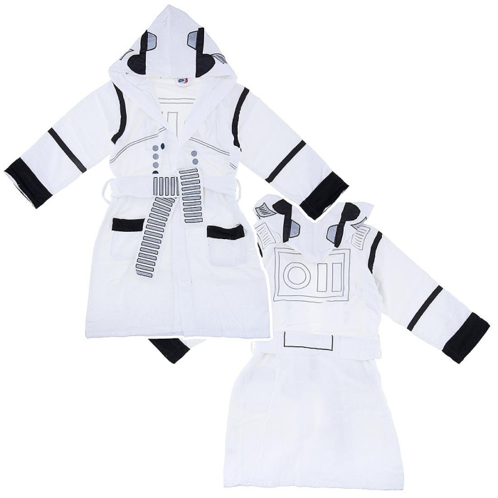Storm Trooper Hooded Terry Bath Robe for Men