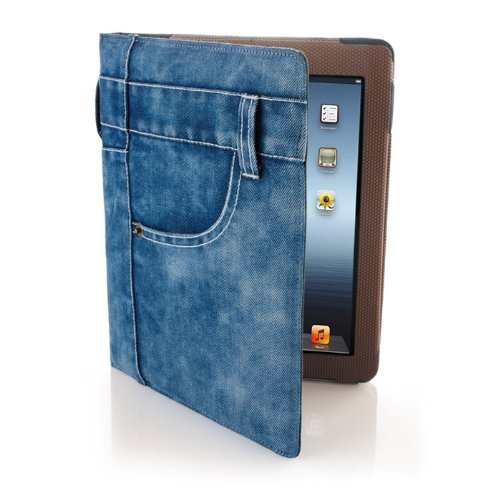 Jean Jacket Case for iPad Tablets
