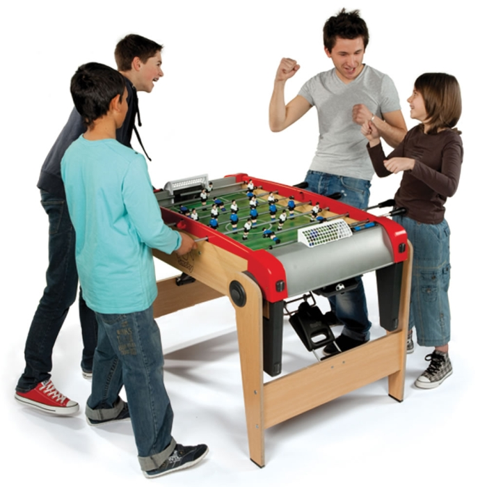 The Foldaway Foosball Table