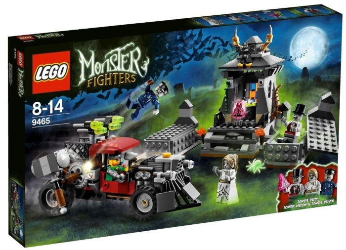 Lego Monster Fighters: the Zombies