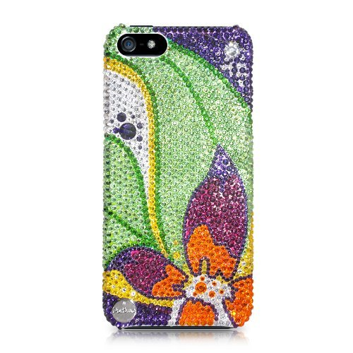 Floral Petals Swarovski Crystal iPhone 5 Cases