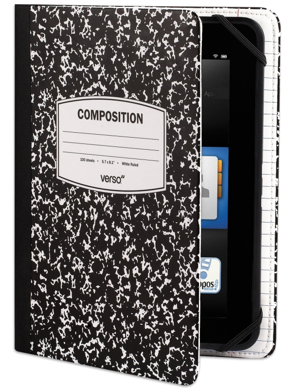 Scholar Notebook Case for Kindle Fire HD 7""