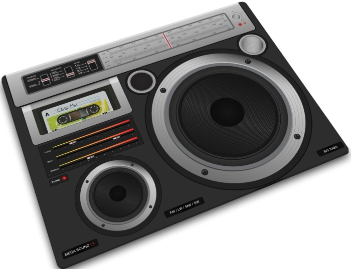 Worktop Saver, Boom Box Design