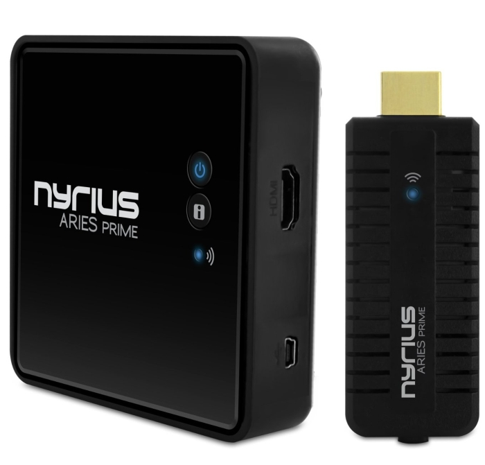 Nyrius ARIES Prime Wireless HDMI Transmitter & Receiver