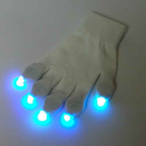 7 Color Nano LED Glove Set