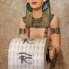Egyptian Priestess A Kah Kah Loo Bath Tissue Holder