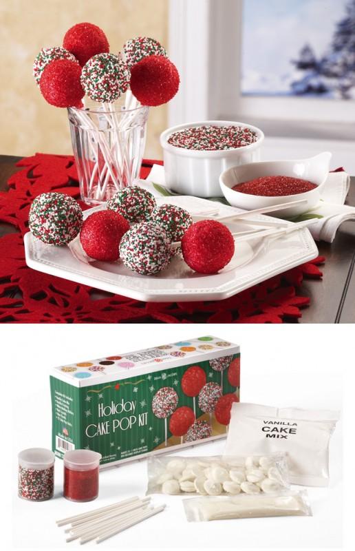 Holiday Cake Pop Decorating Kit