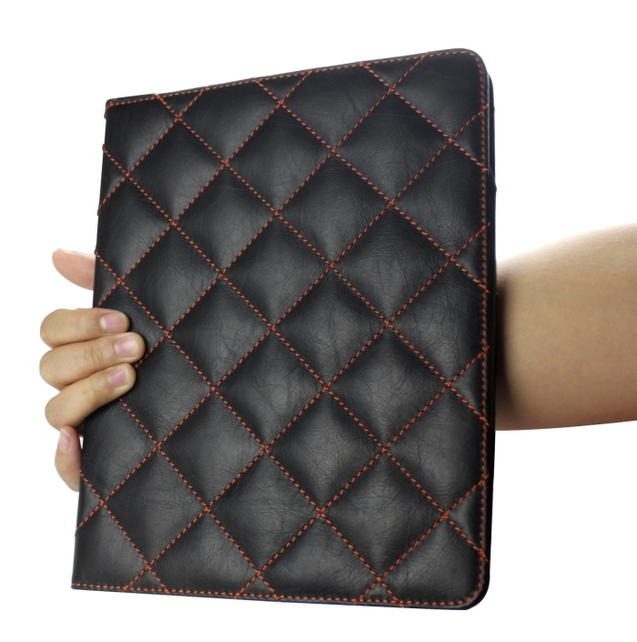 Luxury 100% Full Grain Genuine Top Layer Buffalo Hide Vintage Leather Case for iPad 2 / iPad3 / the New iPad