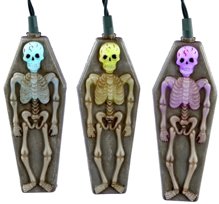 Ghost with Tombstone Novelty Light Set