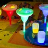 Set of 4 Glow Margarita Glasses