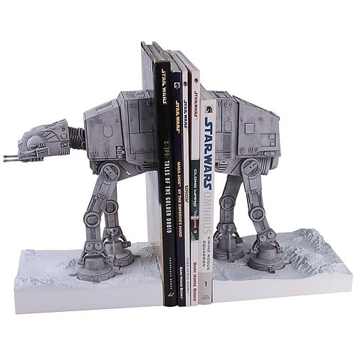 Star Wars The Empire Strikes Back AT-AT Bookends