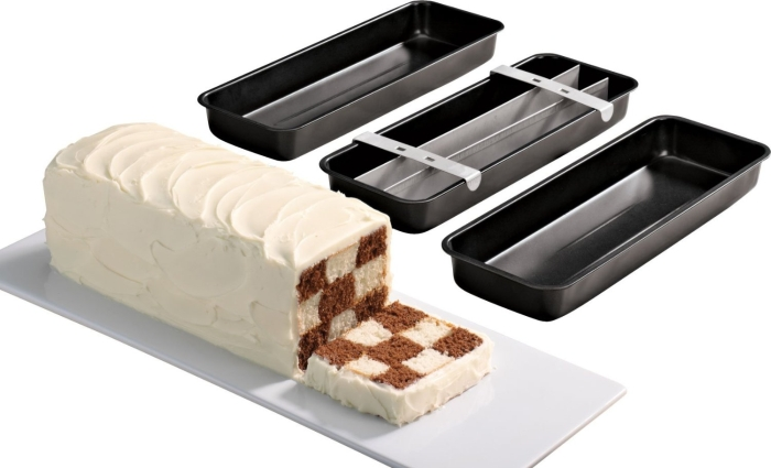 Checkerboard Loaf Pan Set