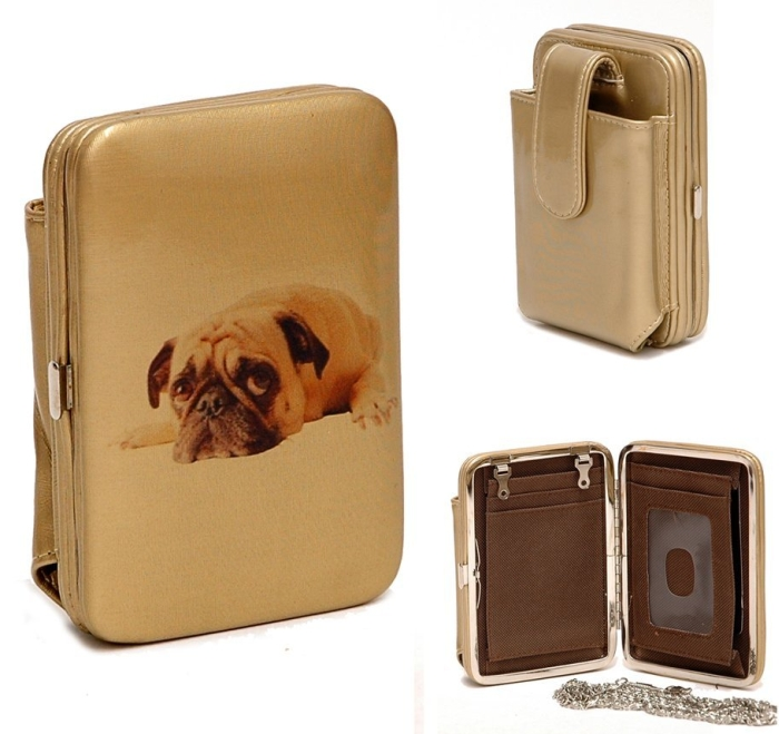 Dog Cellphone IPhone Ipod case frame wallet