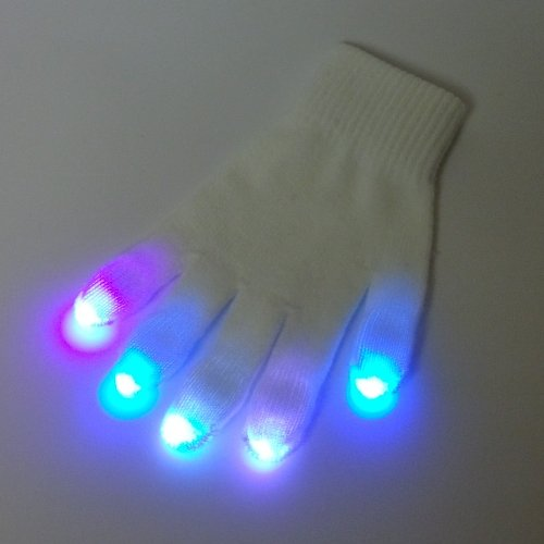3 Color Nano LED Glove Set
