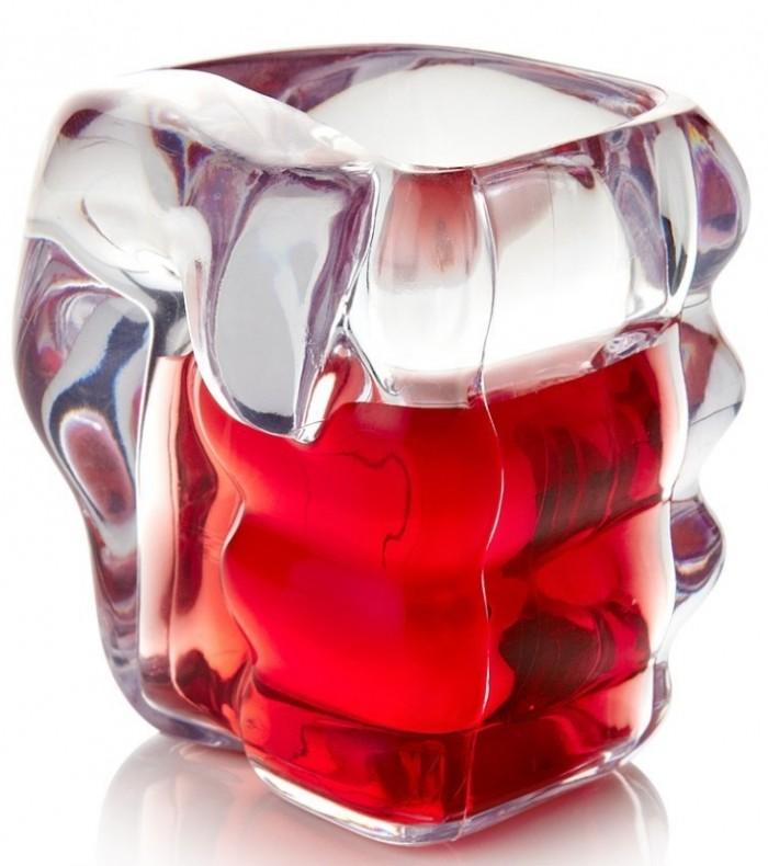 Slammers - Fist Shaped Glass Shot Glasses