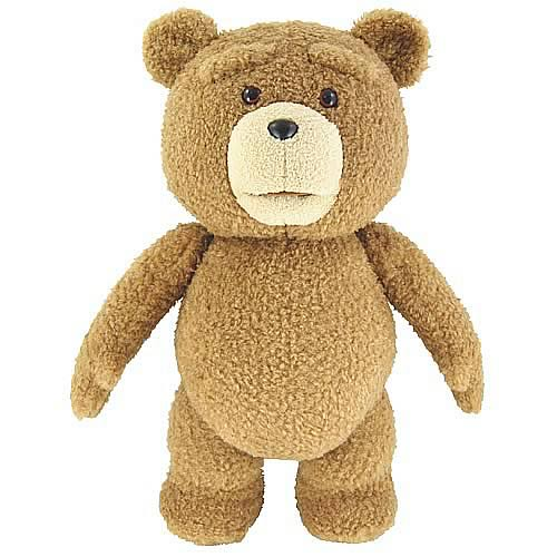 "Ted 24"" Inch Clean Version Talking Plush Teddy Bear"