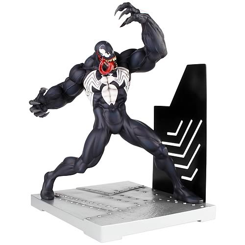 Spider-Man Venom Bookend Statue