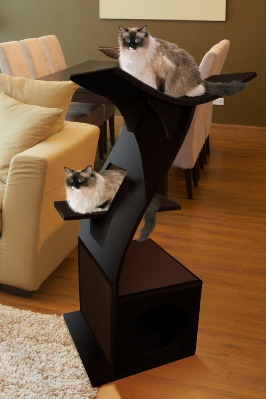 Feline Little Lotus Cat Tower
