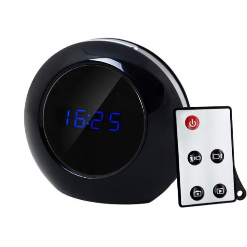 Remote Control Mirror Alarm Clock DVR