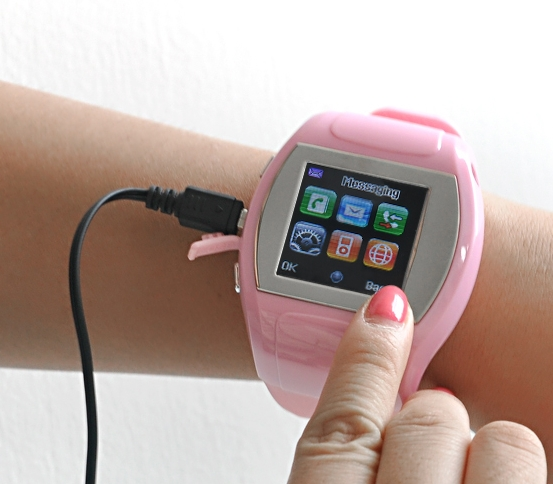 "Ladies Mobile Phone Watch ""Bubble"""