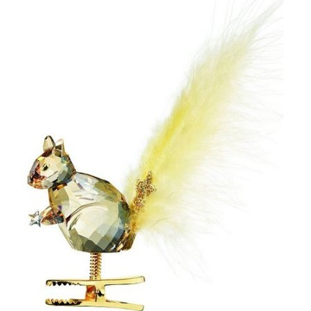 Swarovski Winter Squirrel Figurine