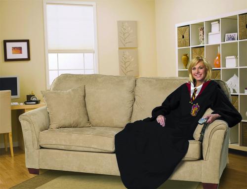 Harry Potter Micro Rashel Comfy Throw Blanket with Sleeves