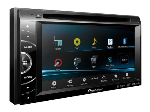 NEW 2013 MODEL PIONEER AVH-X2500BT / AVHX2500BT 2-DIN Multimedia DVD Receiver