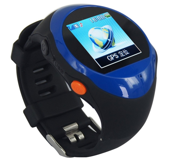 Real-time GPS Watch Remote GPS Tracking Quad-band