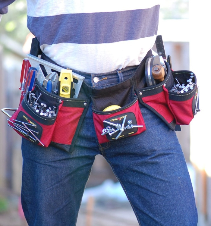 Magnetic Carpenter's Tool Belt