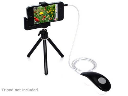 Remote Camera Video Shutter Release Cord Cable for Apple iPhone 5