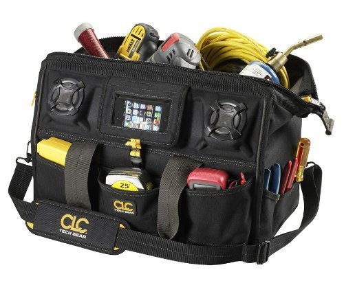 Pocket Tech Gear Stereo Speaker Mega Mouth Tool Bag