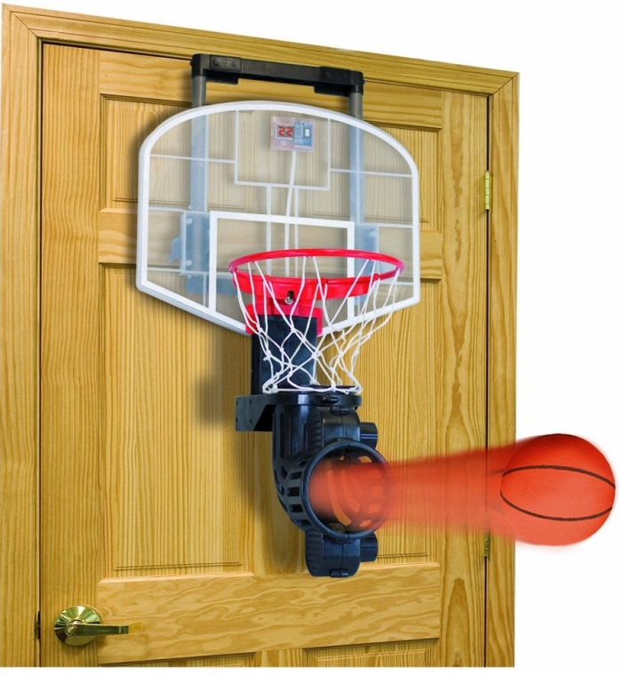 Franklin Sports Shoot Again Basketball Hoop Set