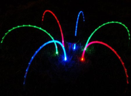 Solar Powered Rainbow String Lights
