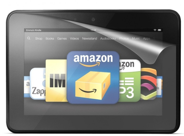 """3-Pack Ultra-Clear Screen Protector for Kindle Fire HD 7"""""""