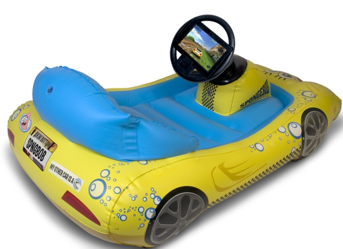Inflatable Sports Car for Kindle Fire