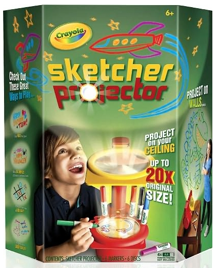 Crayola Sketcher Projector toy gift idea birthday