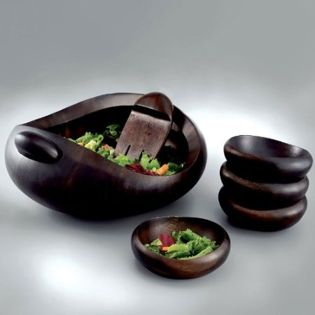 Heritage Pebble 7-Piece Salad Set