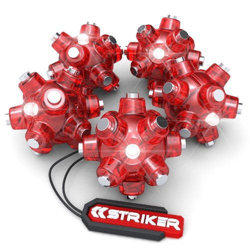 Striker 00105 Magnetic Light Mine Stocking Stuffer, 5-Pack