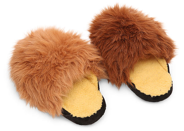Star Trek Tribble Slippers with Sound